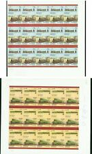 Wales/Bernera Is. Locomotives imperf PROOF PANES OF 30