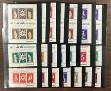 {Bj Stamps} 1978-Elizabeth Ii, 25th Anniversary-21* sheets of 6, Mnh. Cv $50.60