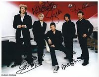 Duran Duran SIGNED Photo 1st Generation PRINT Ltd 150 + Certificate (1)