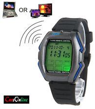 OROLOGIO Polso Telecomando Tv Dvd Luce led Cronografo Touch Screen Universale!!!