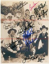 THE DUKES OF HAZZARD FULL CAST ALL 8 SIGNED AUTOGRAPHED 8x10 RP PHOTO HAZARD