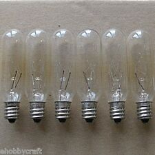 Light Bulbs -Great for Salt Lamps -15 Watt,Candelabra,Clear (15T6C) -25 Pieces