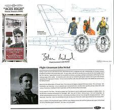18 SEP 2008 RAF UNIFORMS PANE SIGNED GULF WAR JOHN NICHOL BENHAM FIRST DAY COVER