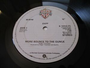 ZAPP - MORE BOUNCE TO THE OUNCE / BRAND NEW PLAYER, K 17712 (T) WARNER BROS 1980