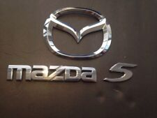 2006-2010 MAZDA 5 REAR TRUNK EMBLEM LOGO BADGE DECAL NAMEPLATE P# 02365731