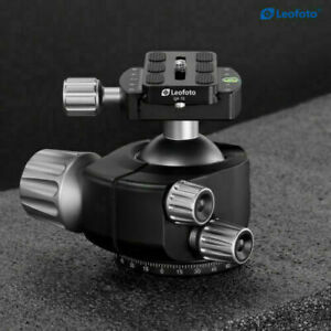 Open Box, Leofoto LH-55 Ball Head Tripod Head with Plate for RRS / ARCA