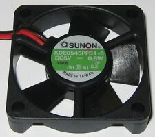 Sunon 45 mm High Speed Cooling KDE Fan - 5 V - 11 CFM - 6000 RPM - KDE0545PFS1