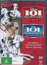 Disney 101 Dalmatians 2-movie Collection DVD NEW 1 & 2 Patch's London Adventure