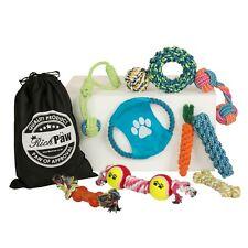 Dog Toy Set - 10 x Dog Toys - Rope Dog Toys - Dog and Puppy Toys - RichPaw