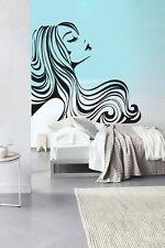 Wall Decal Vinyl Sticker Hair Salon Hairdresser Beauty Nail Manicure R1221