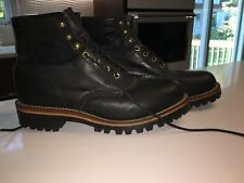 "Vintage Chippewa Original Black 6"" Boots... Sz 91/2... New"