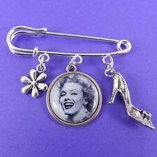 Marilyn Monroe Kilt Broche Rockabilly Kitsch Rétro Vintage 50 s PIN UP Pretty