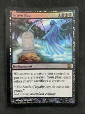 MTG Magic The Gathering FOIL  Grave Pact Eighth Edition HP