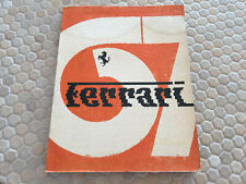FERRARI FACTORY PUBLISHED OFFICIAL YEARBOOK BROCHURE 1967 ITALIAN USED