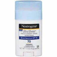 Neutrogena Face & Body Stick Sunscreen Ultra Sheer SPF 70 - 1.5oz Broad UVB