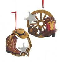 Western Sheriff Ornaments