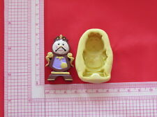 Clocksworth Clock Character Silicone Mold A845 Candy Chocolate Fondant Soap Wax