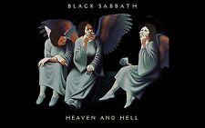 Black Sabbath Heaven and Hell 24 x 24 Poster Album Cover