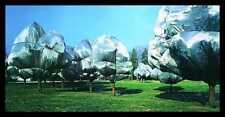 CHRISTO WRAPPED Trees n. 11 Riehen poster immagine stampa d'arte & Quadro in alluminio 50x100cm