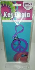 BRAND NEW PEACE SIGN KEY CHAIN