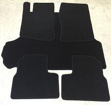 Fußmatten Kofferraumtepich Set für Opel Vectra B Lim. schwarz 5tlg Velours Neu
