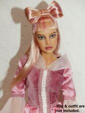 OOAK JAMIESHOW GINNY PAINTED BY LESLIE WAGNER OF SANDS OF FIRE W/ WIG CAP SHOES
