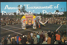 America Postcard - Annual Tournament of Roses Parade, Pasadena   DR48