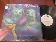 Little Joe, Johnny, La Familia LP: 1983,No Quiero Mas Amar, NM, shrink