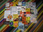 1960/1970s Civil Protest Activism Socialism ephemera - Stickers flyers cards