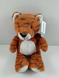 "Carters Orange Black Tiger Stuffed Animal New 67764 2019 Plush Baby Toy 9"""