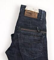 G-Star Raw Herren Gerades Bein Jeans Größe W31 L30 APZ774