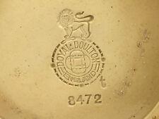 More details for royal doulton stoneware vase with backstamp error spelt doyal doulton very rare