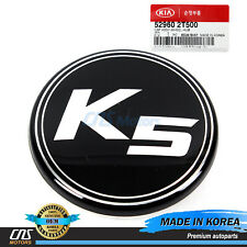 "GENUINE Wheel Cap ""K5"" for 11-16 Kia Forte Optima Rio Sorento Soul 529602T500"