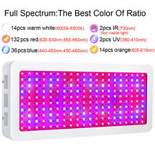 BestVA 2000W Plus+  Full Spectrum LED Grow Light  For Indoor Plants Veg Bloom