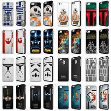 Star Wars Phone Case Cover Skywalker Darth Vader R2D2 Boba Fett For Iphone FP
