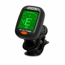 More details for uk electric guitar tuner lcd clip on chromatic acoustic  bass ukulele banjo