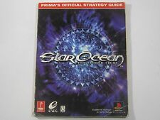 Star Ocean The Second Story Prima's Official Strategy Guide Playstation