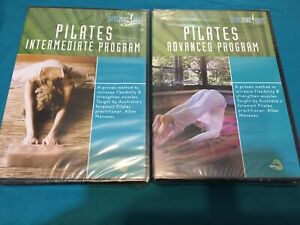 PILATES - TOTAL MIND & BODY WORKOUT - INTERMEDIATE & ADVANCED - 2 DVDS - NEW