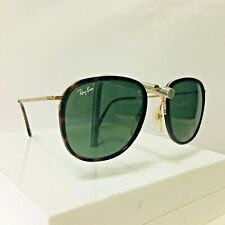 Vintage RAY BAN W0870 Bausch & Lomb Traditionals Dark Tortoise G15 Sunglasses