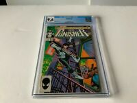 PUNISHER 1 CGC 9.6 WHITE PAGES KLAUS JANSON MARVEL COMICS 1987