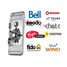 IPHONE & ANDROID UNLOCKING FOR ROGERS / FIDO/ TELUS / CHATR / BELL / VIRGIN ETC