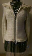 Courreges, great hoodie sweater small angora