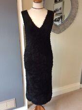 25afc41ef03 Фантастическая Zara Trafaluc случаю черное стрейч платье размер Eur M  (12-14) l       K!