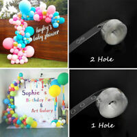 5M Balloon Decorate Strip Arch Garland Connect Chain DIY Tape Party  Bar Decor