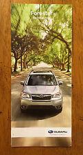 2016 Subaru Forester accessories catalog brochure