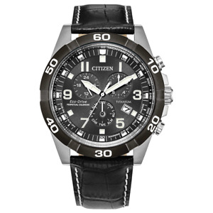 Citizen Eco-Drive - Brycen Super Titanium Chronograph Men's Watch - BL5558-15H
