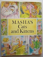 MASHA'S CATS & KITTENS Written & Illus. by Masha HC DJ 1970 - 6