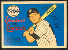 1970 Fleer Laughlin World Series BLUE BACK, 1964 Yankees/Cardinals, Pack Fresh!