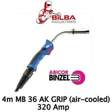 Genuine Binzel MB 36 AK Grip 4m Mig Gun/Torch (Air Cooled)