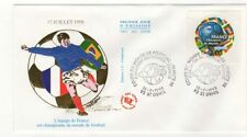 FRANCE FDC 1er jour 1997 coupe du monde de football france 98 / FDCa36